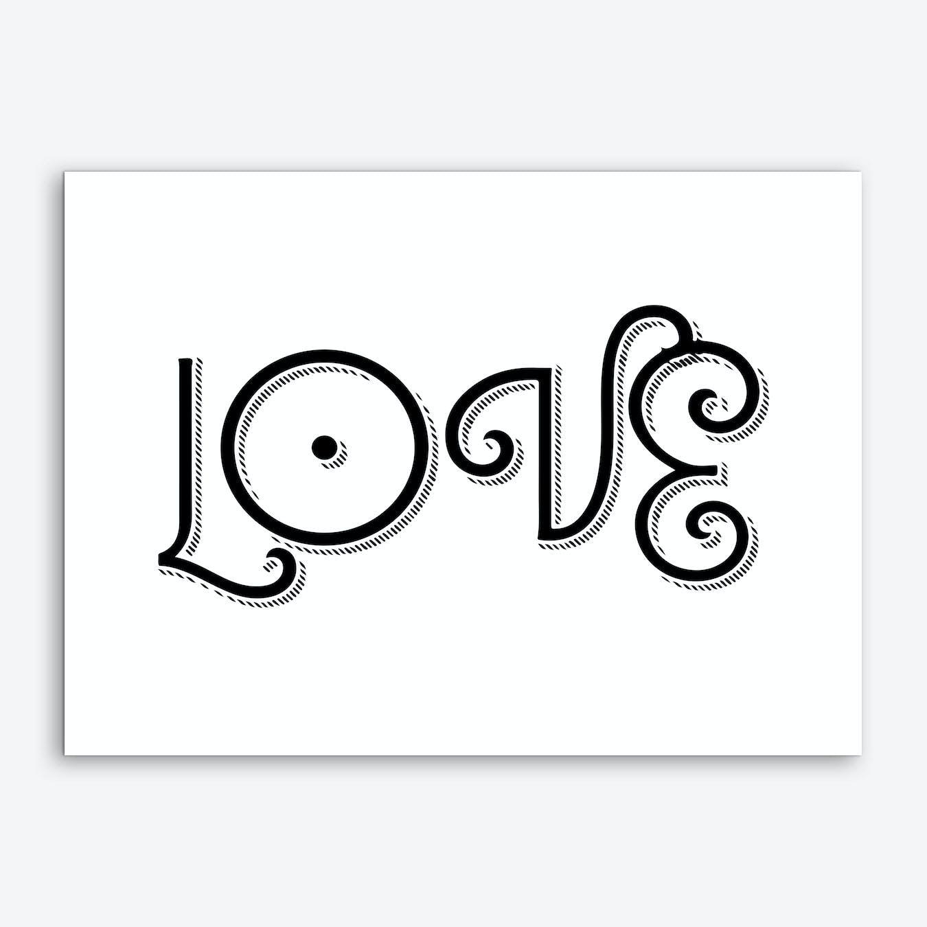 Love II Print