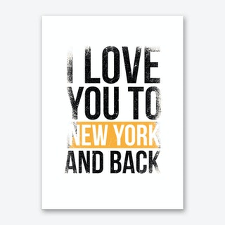 New York II Art Print