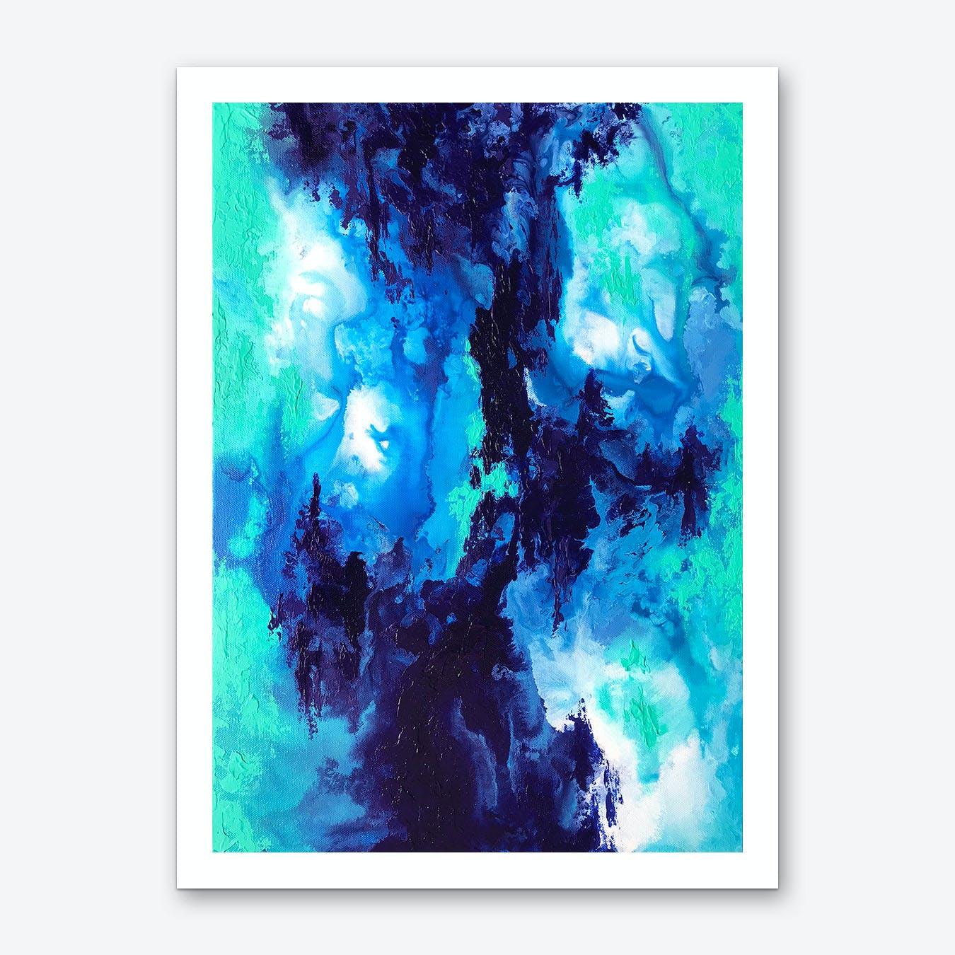 Sea Structure Art Print