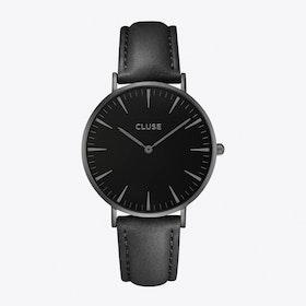 La Bohème Watch in Full Black