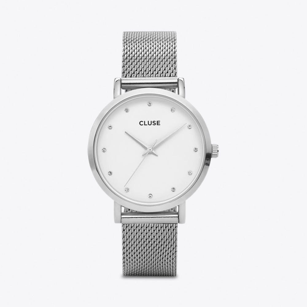 Pavane Watch in Silver