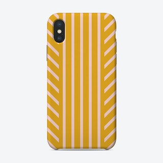Lined Marigold Phone Case