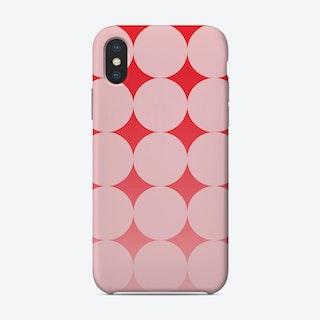 Circling Pink Phone Case