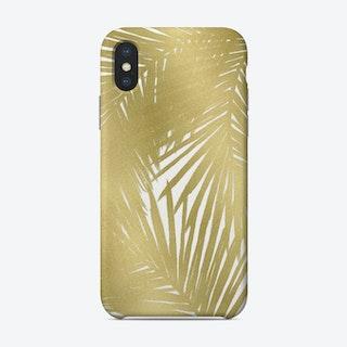 Gold Palms Phone Case