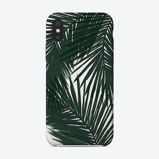Green Palms Phone Case