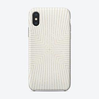 Converge Light Gold Phone Case