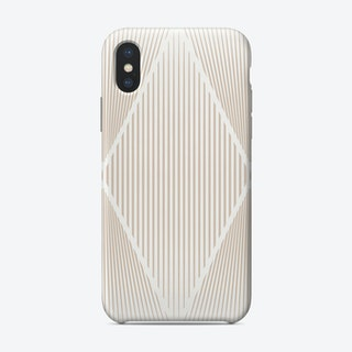 In The Fold Tan Phone Case