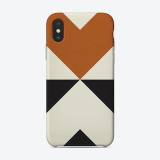 Split X Rust Phone Case