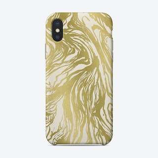 Gold Marble Phone Case