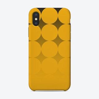 Circling Yellow Phone Case