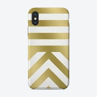 Modern 03 Gold Phone Case