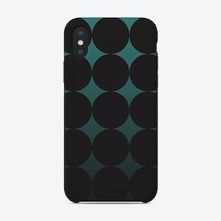 Circling Emerald Phone Case