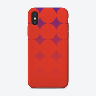 Circling Red Phone Case
