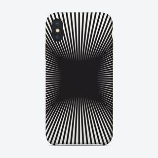 Converge Black Phone Case