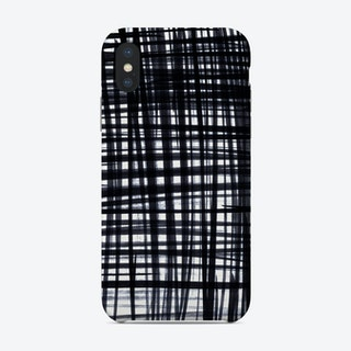 Brushed Check Phone Case