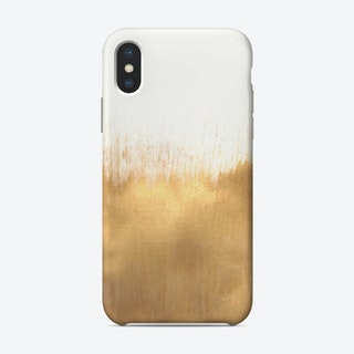 Brushed Gold Phone Case