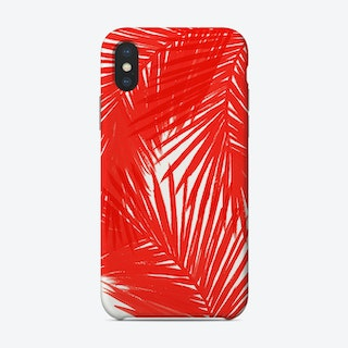 Red Palms Phone Case