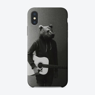 Animals In My Room   Bear Phone Case