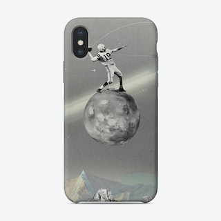 Space Football Phone Case