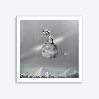 Space Football Art Print