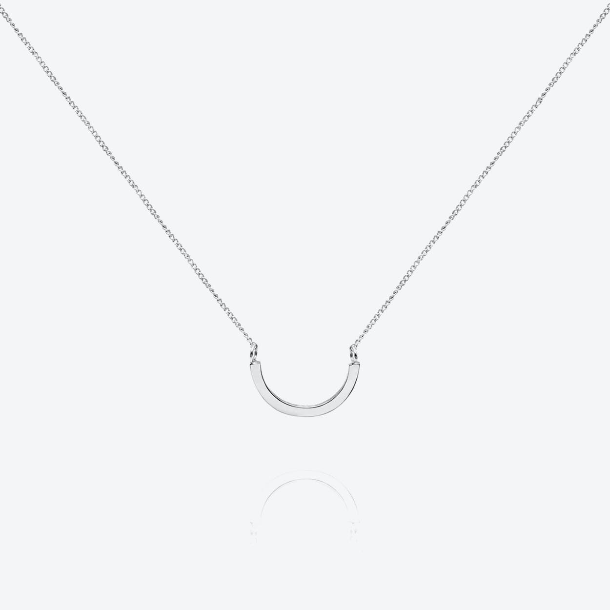 Arc Necklace Sterling Silver