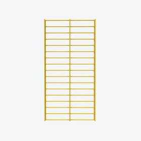 Fency Rack, 80x40 in Yellow