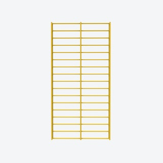 Fency Rack, 80x40 in Yellow