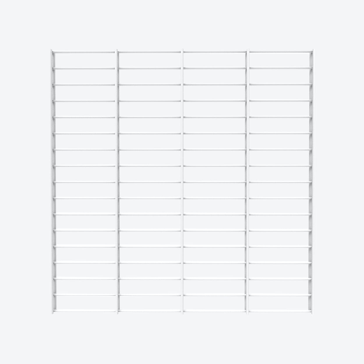 Fency Rack, 80x80 in White