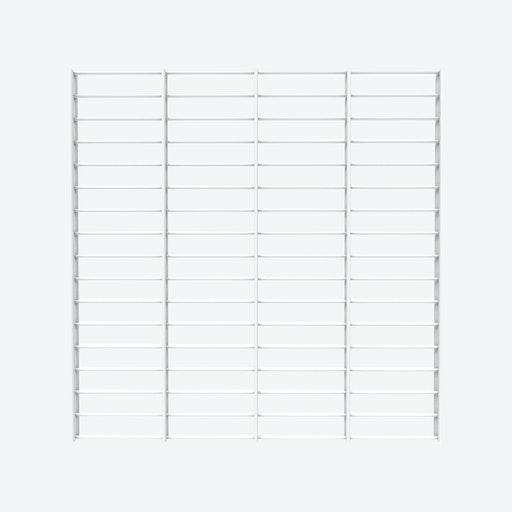 Fency Rack, 80x80 in White
