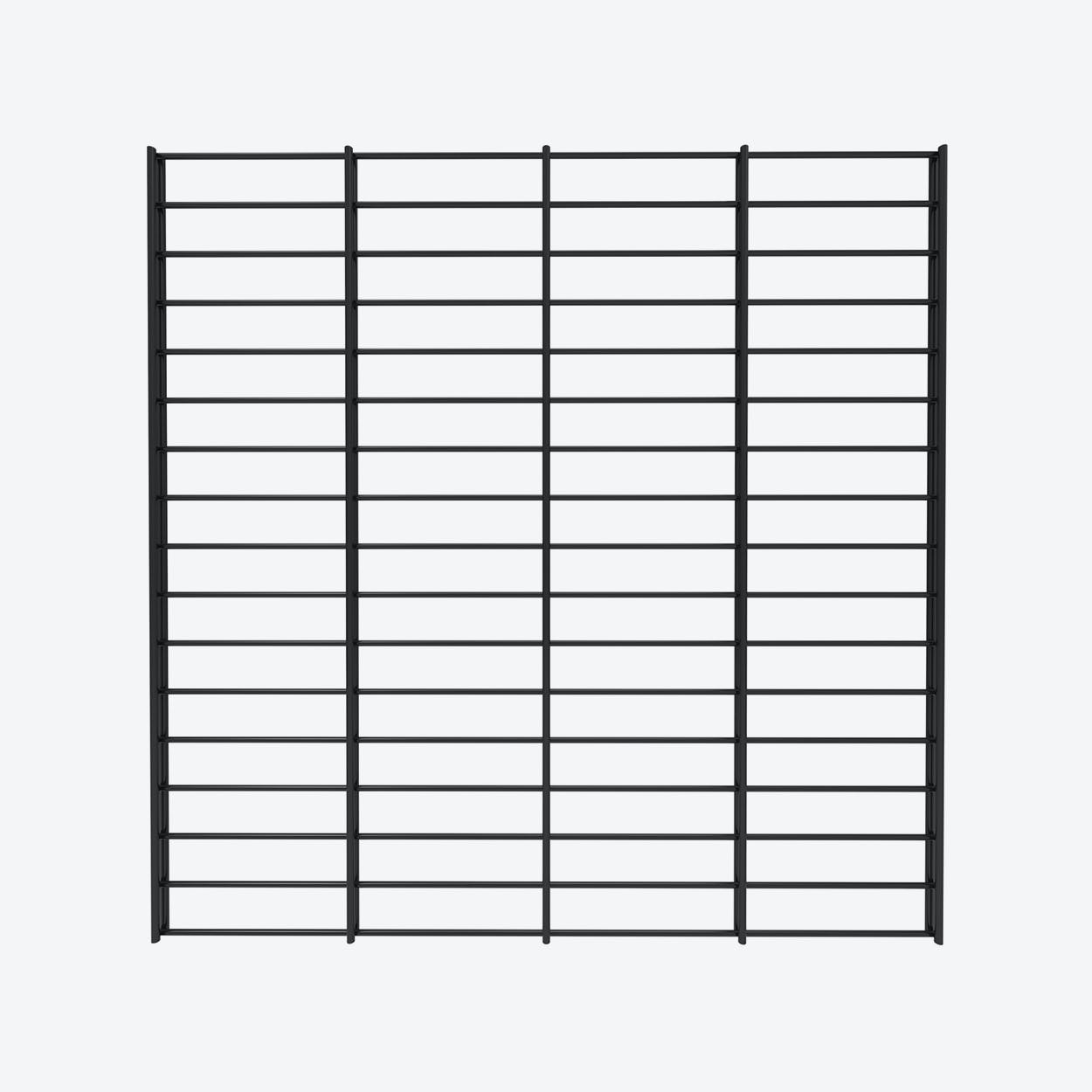 Fency Rack, 80x80 in Black