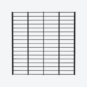Fency Rack, 80x80 in Black