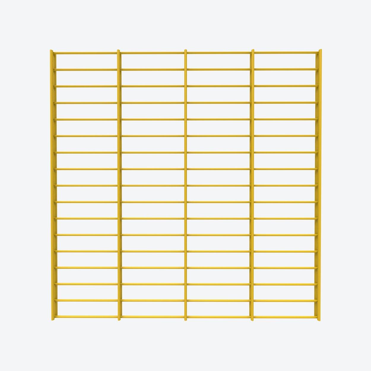 Fency Rack, 80x80 in Yellow