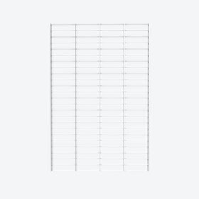 Fency Rack, 80x120 in White