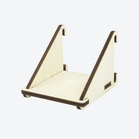 Fency Shelves, Laser Wood, Single-Mini