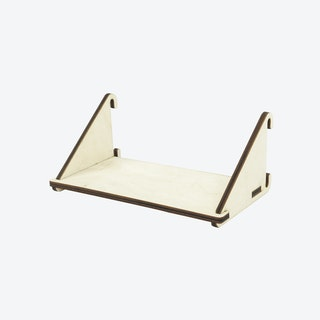 Fency Shelves, Laser Wood, Single-Double