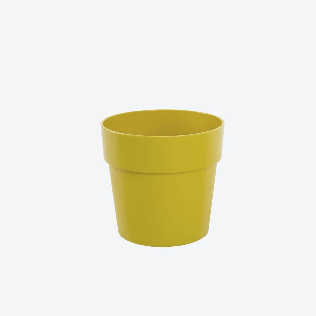 Flowerpot Fency Pot, Yellow, Ø12