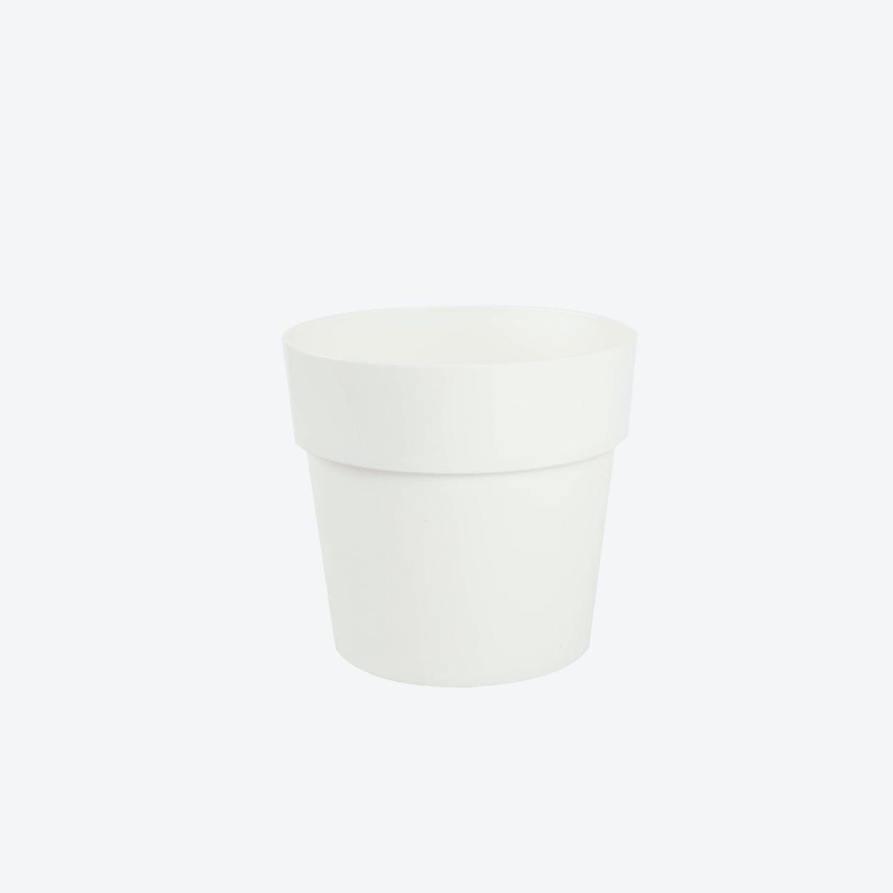 Flowerpot Fency Pot, White, Ø12