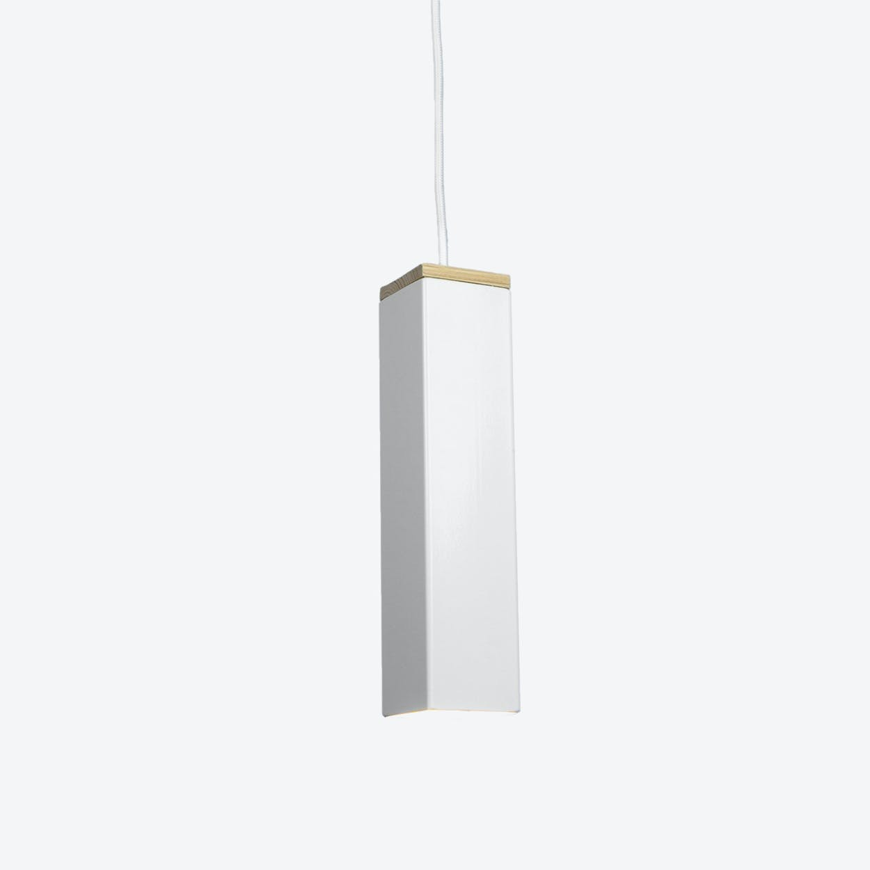 """Andy"" Pendant Light in White"