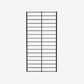 Fency Rack, 80x40 in Black