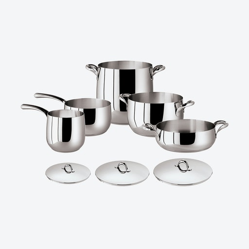 Kikka Stainless Steel Cookware Set 8 pcs
