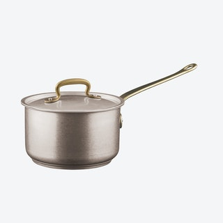 1965 Vintage Stainless Steel Saucepan w/ Lid (16ø cm)