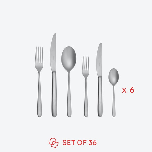 Hannah Antinque Stainless Steel Flatware Set (36 pcs S.H)