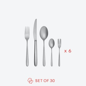 Hannah Antinque Stainless Steel Flatware Set (30 pcs S.H.)