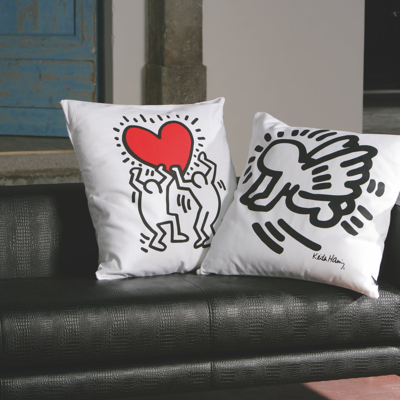 Pillow Heart Hanging
