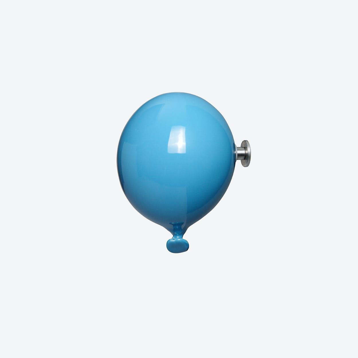 Mini Balloon Wall Hook in Sky Blue
