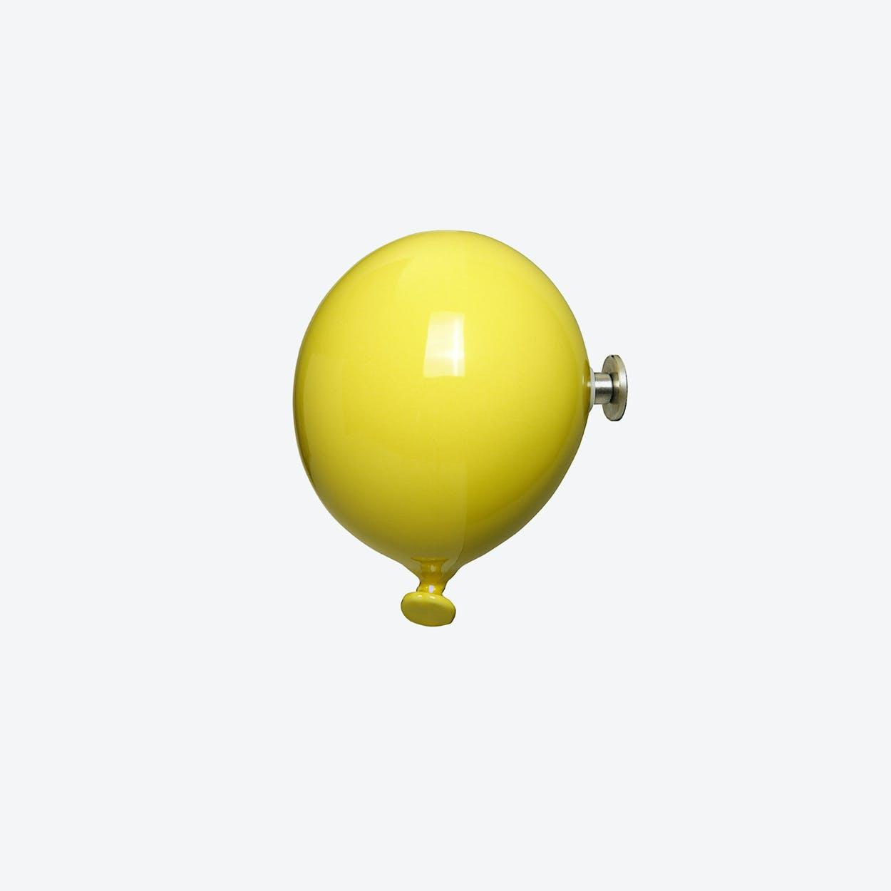 Mini Balloon Wall Hook in Yellow