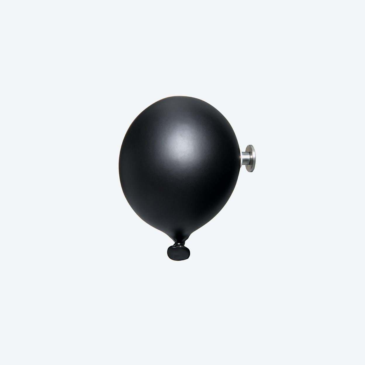 Mini Balloon Wall Hook in Matte Black