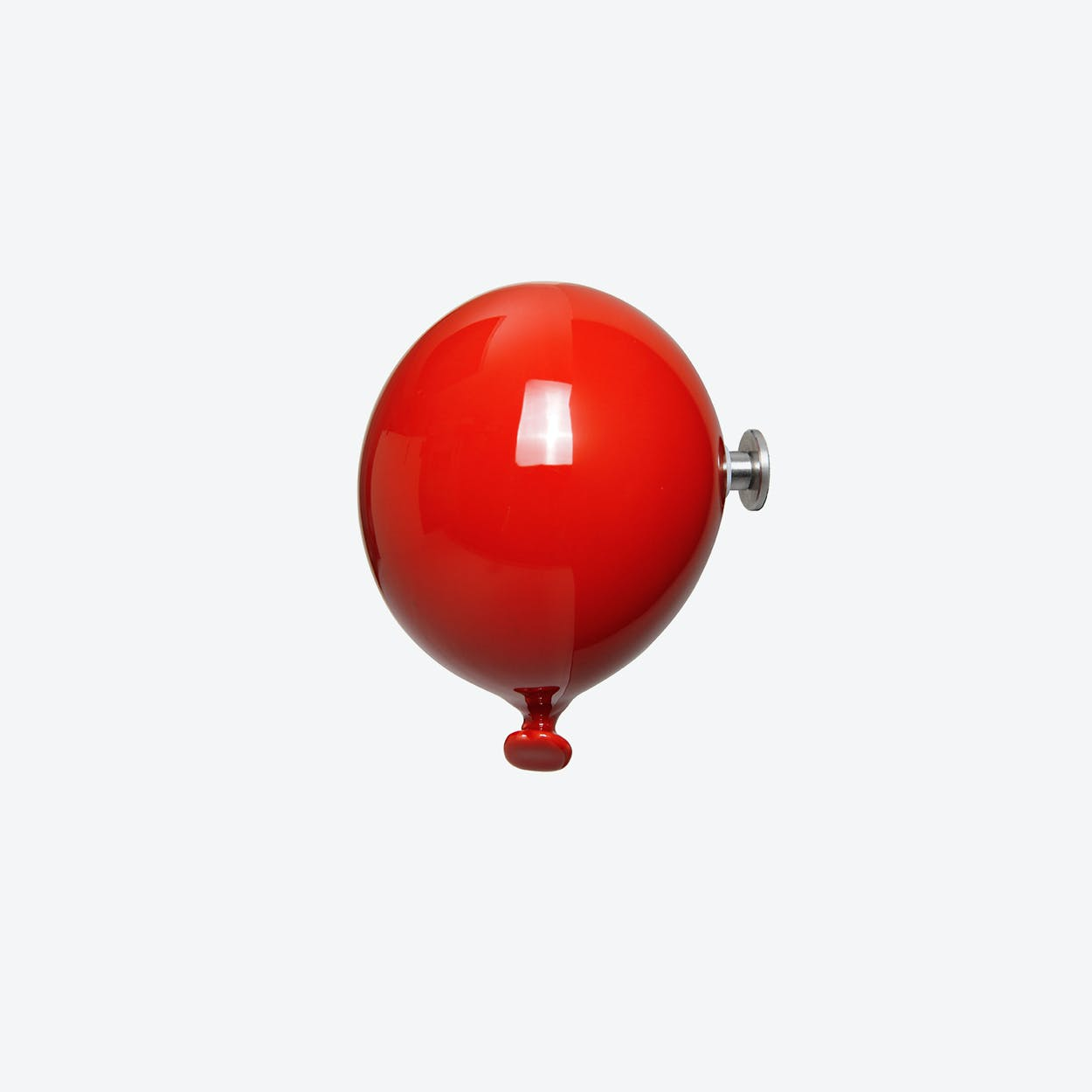Mini Balloon Wall Hook in Red