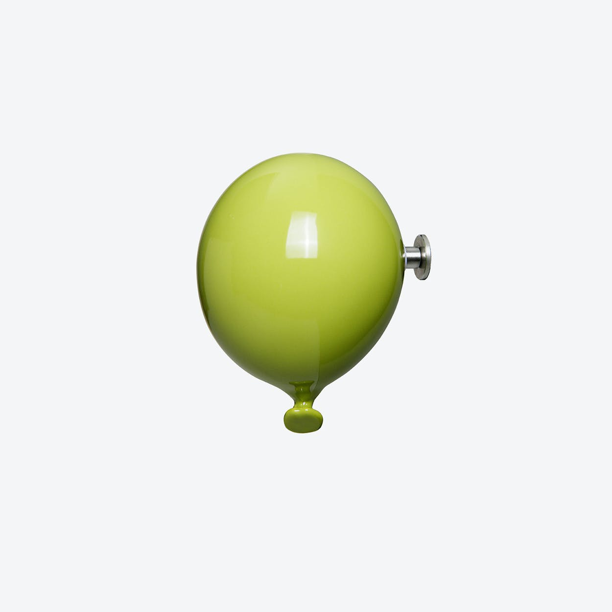 Mini Balloon Wall Hook in Green