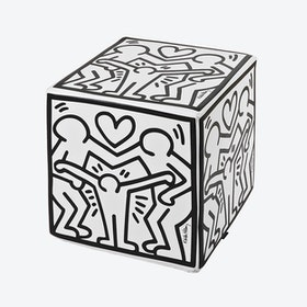 Cubolibre Happy Family White Stool